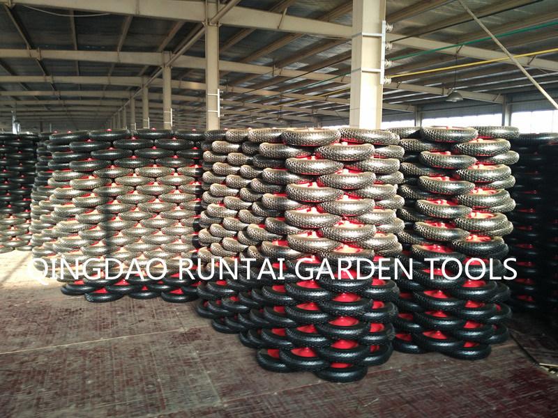 Qingdao Made High Quality Durable Cheap Air Rubber Wheel (4.80/4.00-8)