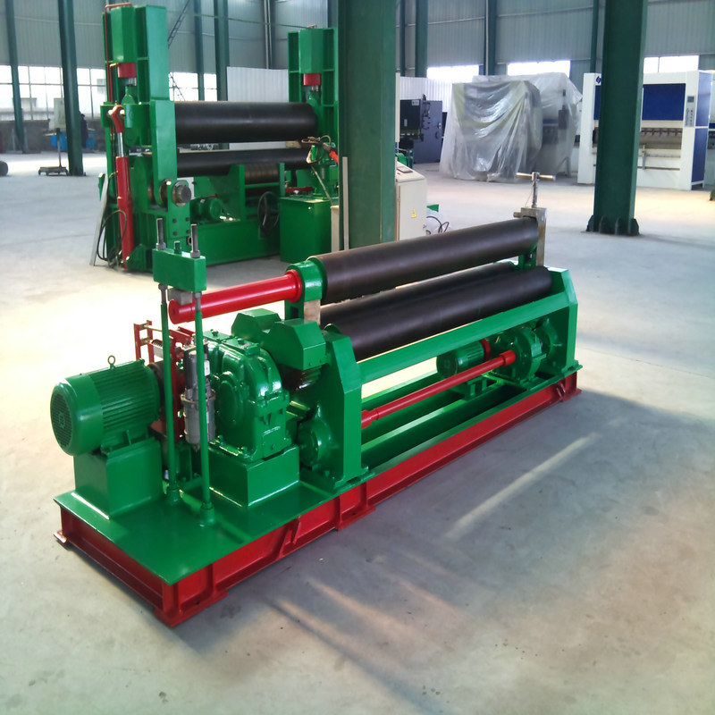 Mechanical Three Roller Plate Rolling Machine