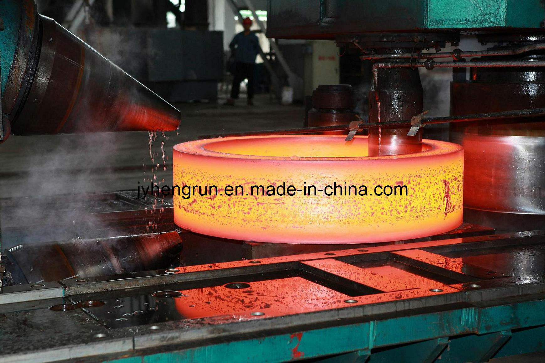 Wind Power Flange Ring Forging