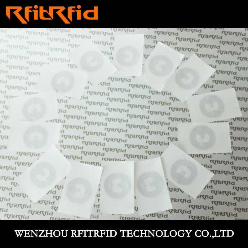 Hf NFC Aluminum Etching RFID Electronic Tag/Label /Sticker