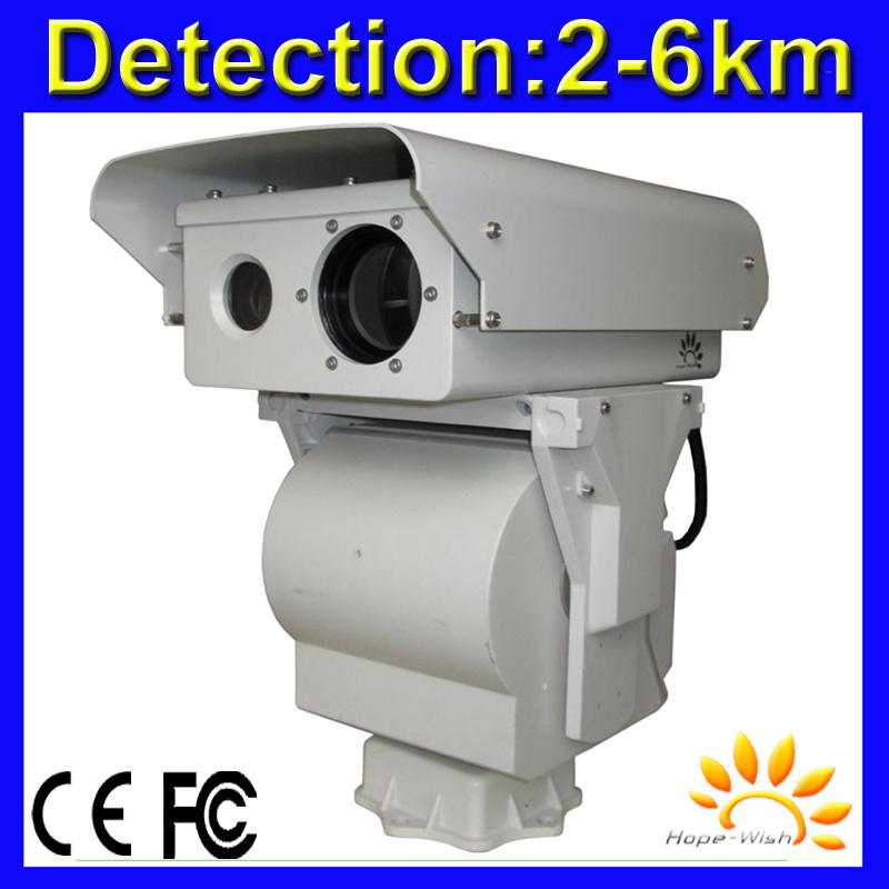Bi-Spectrum Fire Alarm Thermal PTZ Security Camera