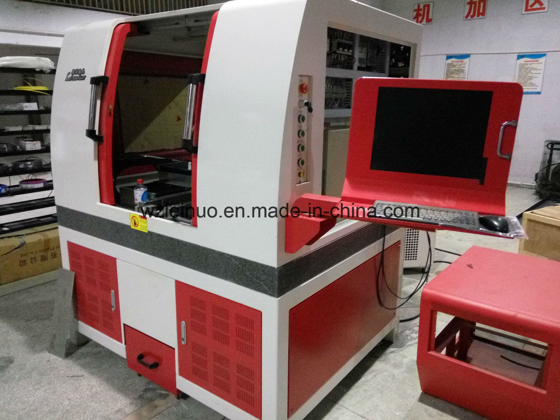 500W Fiber Laser Cutter for Stainless Steel for Kitchen Ware