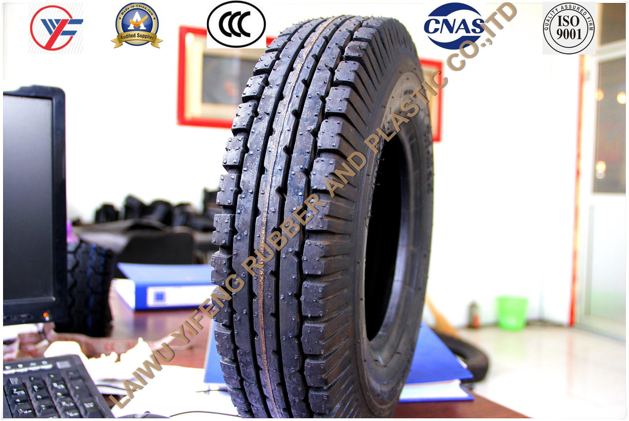 Tricycle Tire for 400-8 Factory Directly Sale ISO9001-2008