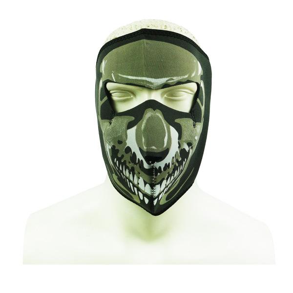 China Navy Seal Army Skull Neoprene Full Face Protector