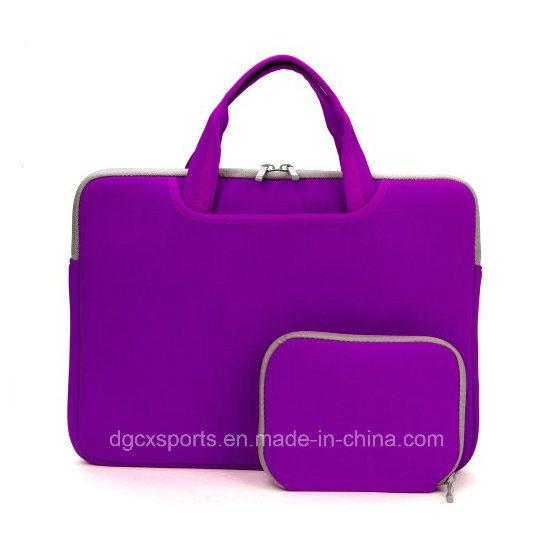 Colourful Waterproof Neoprene Laptop Sleeve Bag with Handle