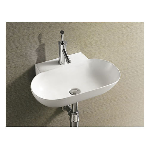 Watermark Approve Big Size Wall Hung Basin for Hotel Project