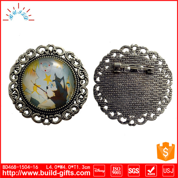 Custom Die-Casting Metal Safety Lapel Pin Badge
