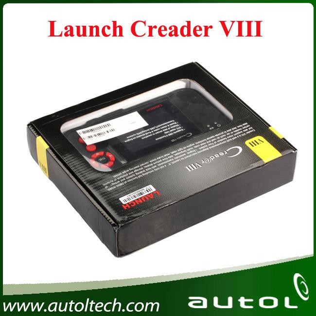 [Authorized Dealer] 2017 OBD2 Scanner Launch Creader VIII Upgrade Online