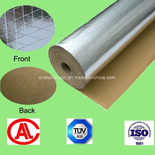 Aluminum Foil for Compound with Scrim - Kraft Paper