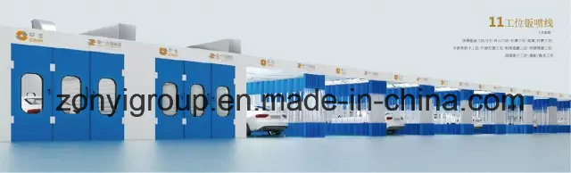 Spraying Booth Ce Spray Booth Factory