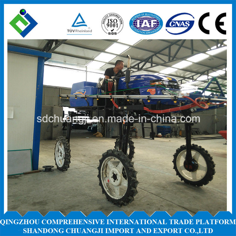 Four-Cylinder Four-Stroke Tractor Boom Sprayer with ISO9001