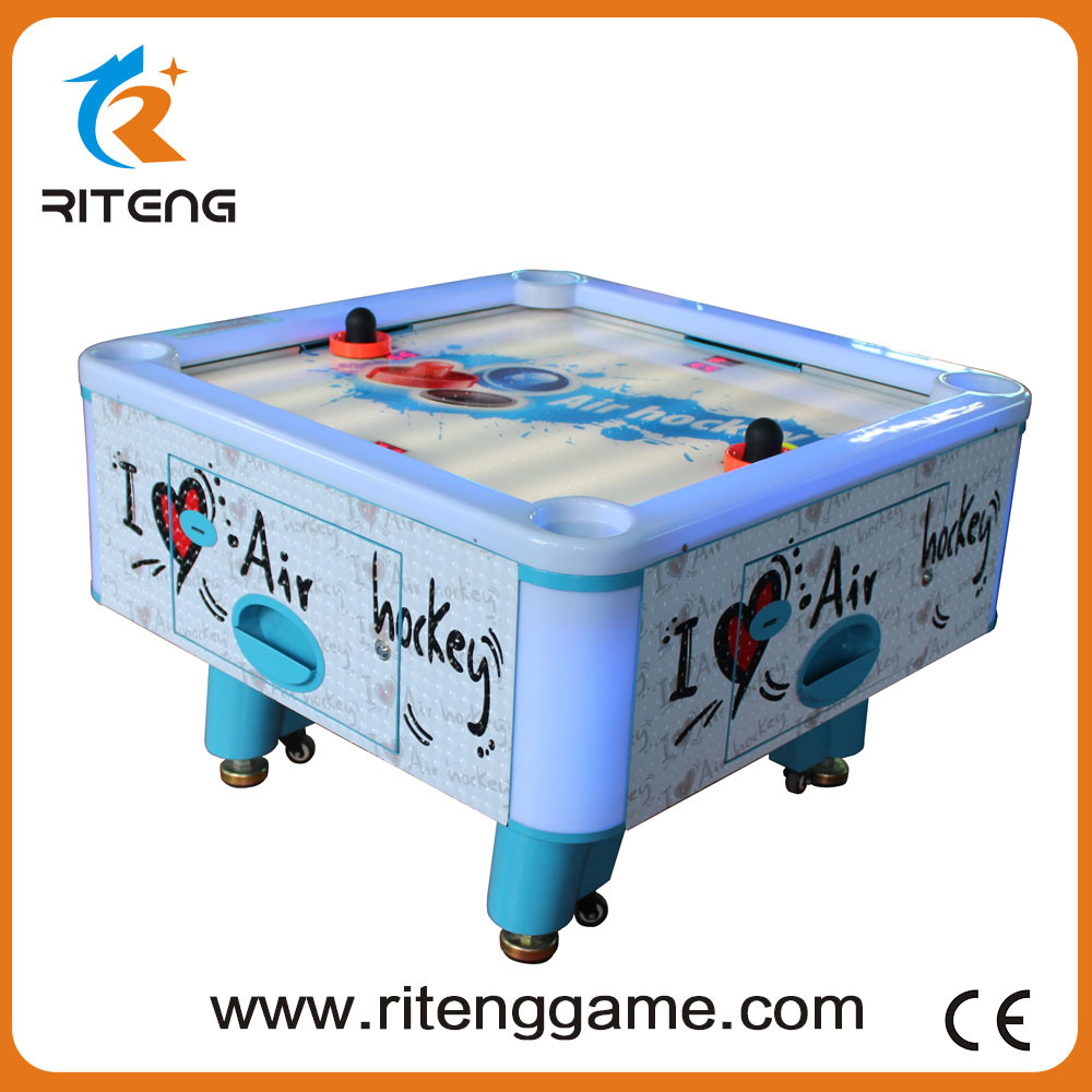 Kids Entertainment Coin-Operated Air Hockey Table for 4 Players
