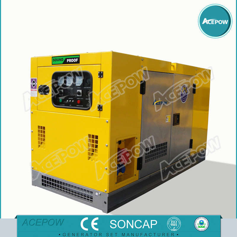 30kVA Soundproof Power Generator with Isuzu Engine