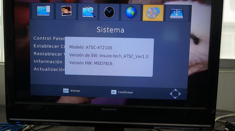 TV Tuner Digital TV ATSC Tuner for USA Mexico Korea Mstar Msd7802