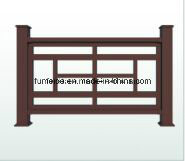 WPC Gardening Fence and Railing K-Rl-07