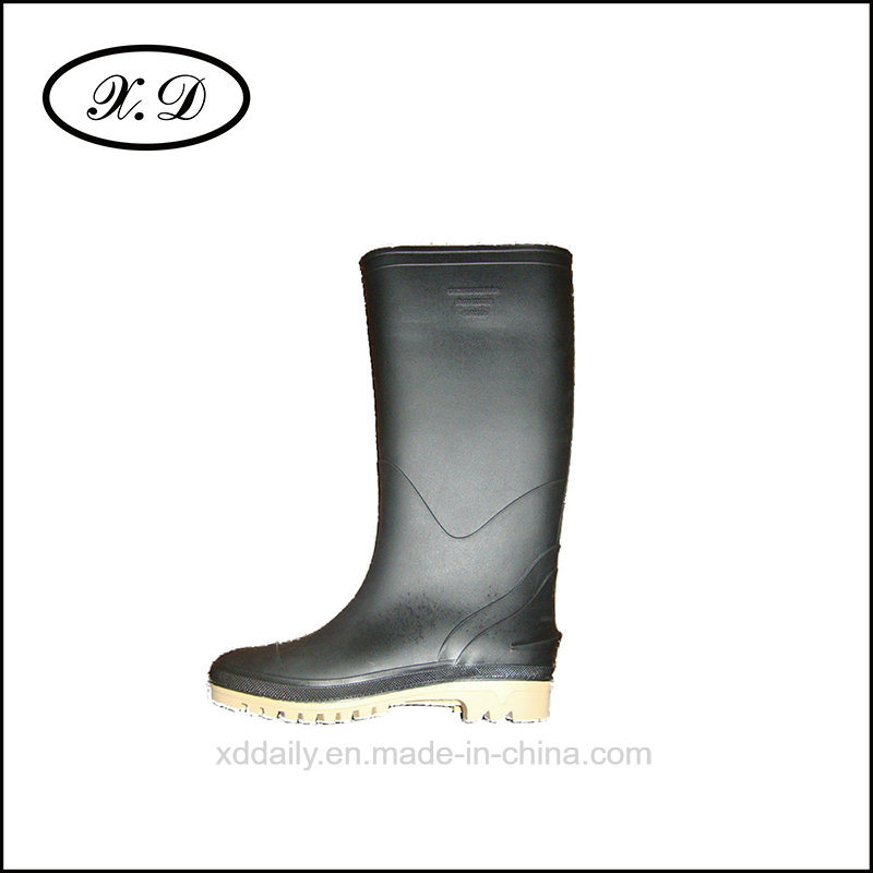 Work Rain Safety Farmer Boot for Man