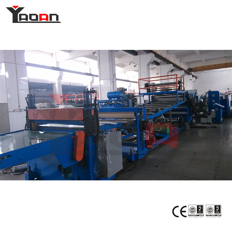 PP PE PS Pet PC ABS Plastic Sheet Extruder Machine