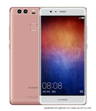 "Original Huawei P9 4G Lte Cell Phone Kirin 955 Android 6.0 5.2"" FHD 1080P 4GB RAM 64GB ROM Dual Back 12.0MP Camera Smart Phone Pink"
