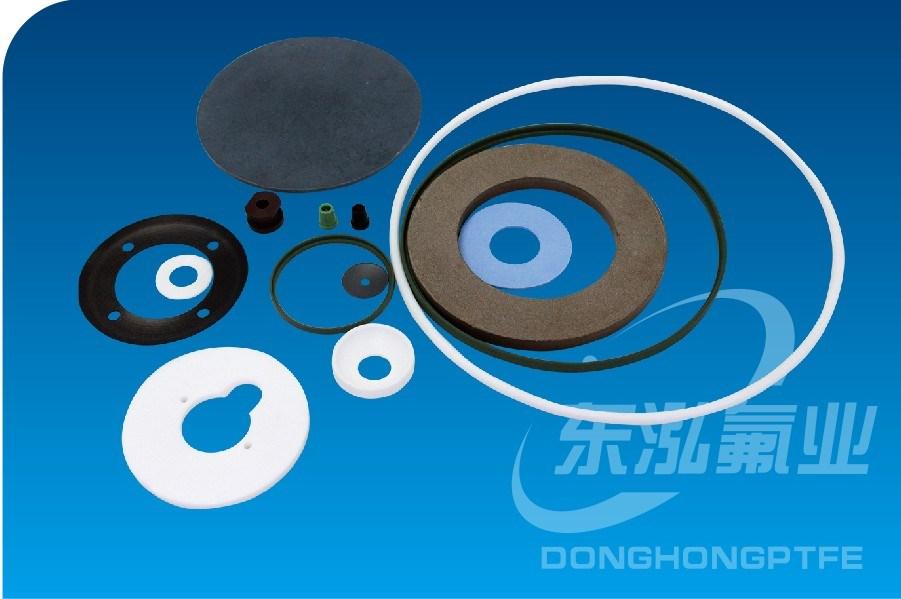 Teflon Gasket Rubber Seal Plastic Products PTFE Gasket
