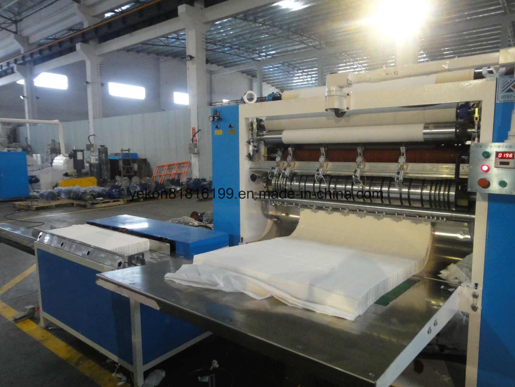 Hand Towel Folding Machine