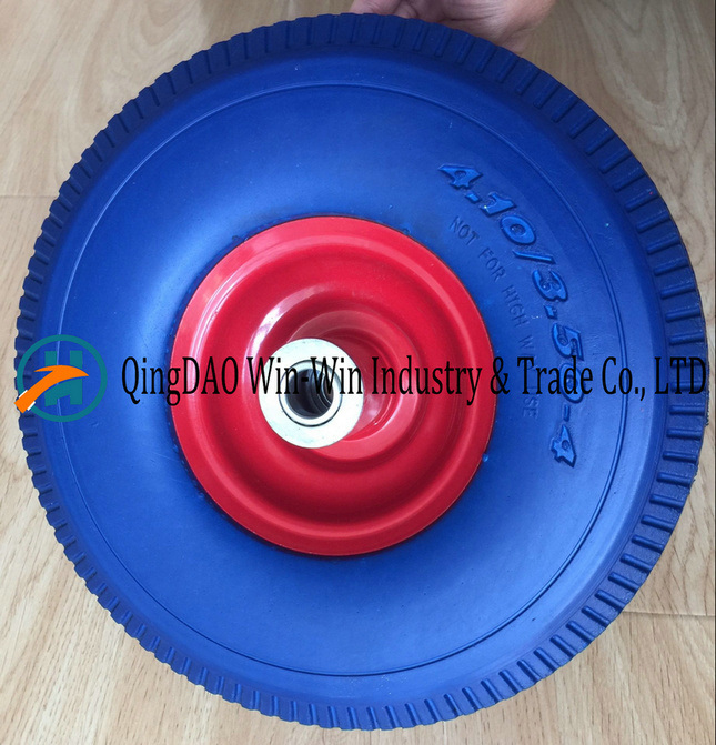 New PU Foam Wheel Used on Hand Trolley (4.10/3.50-4)