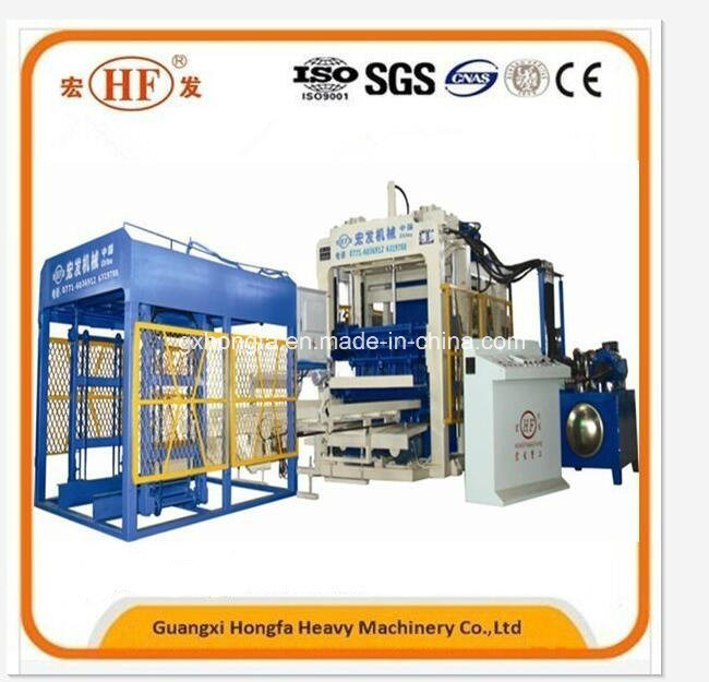 Hfb5150A Fully Automatic Concrete Block Making Machine Block Making Machine