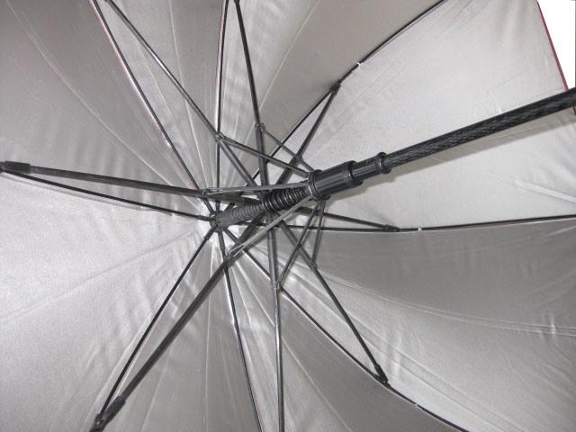 27inch 8 Panels Automatic Open Fiberglass Golf Umbrella (GU001)