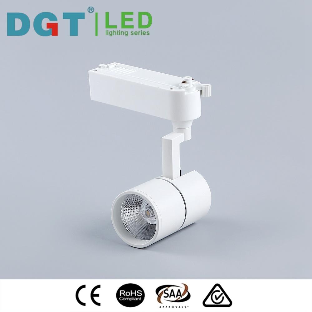 Narrow Beam Angle High Brightness Optical Len LED COB Tracklight