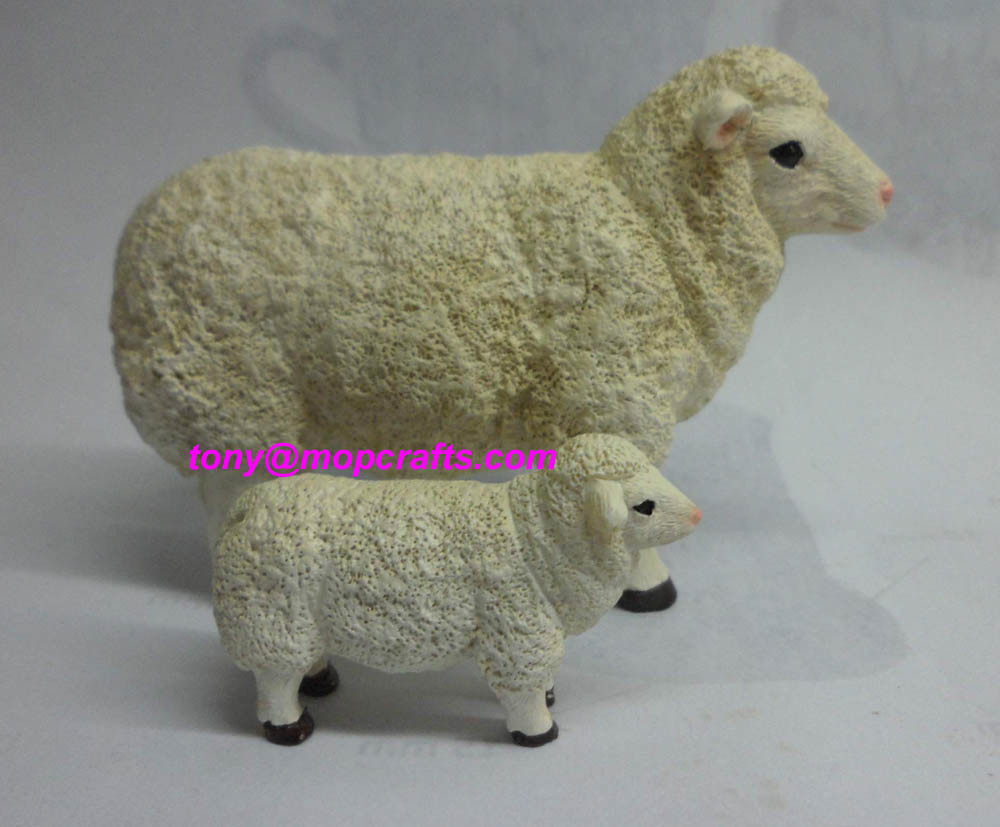 Resin Sheep Crafts with Good Quality
