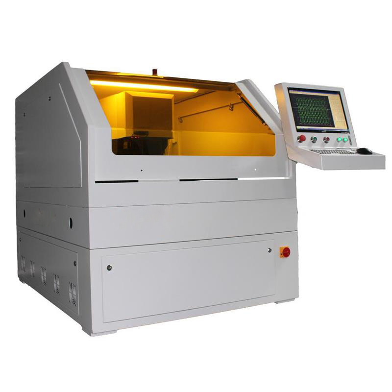 Soft Material Ceramic PVC Sapphire FPC UV Precise Laser Cutting Machine