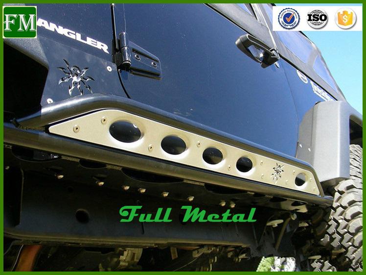for Jeep Wrangler 2 Door Poison Spider Side Step/ Side Bar