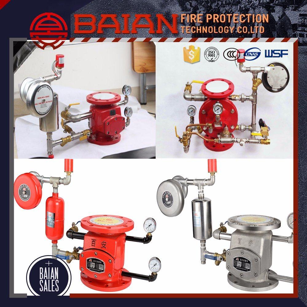 Price for Alarm Valve Automatic Fire Sprinkler System Wet Alarm Check Valve