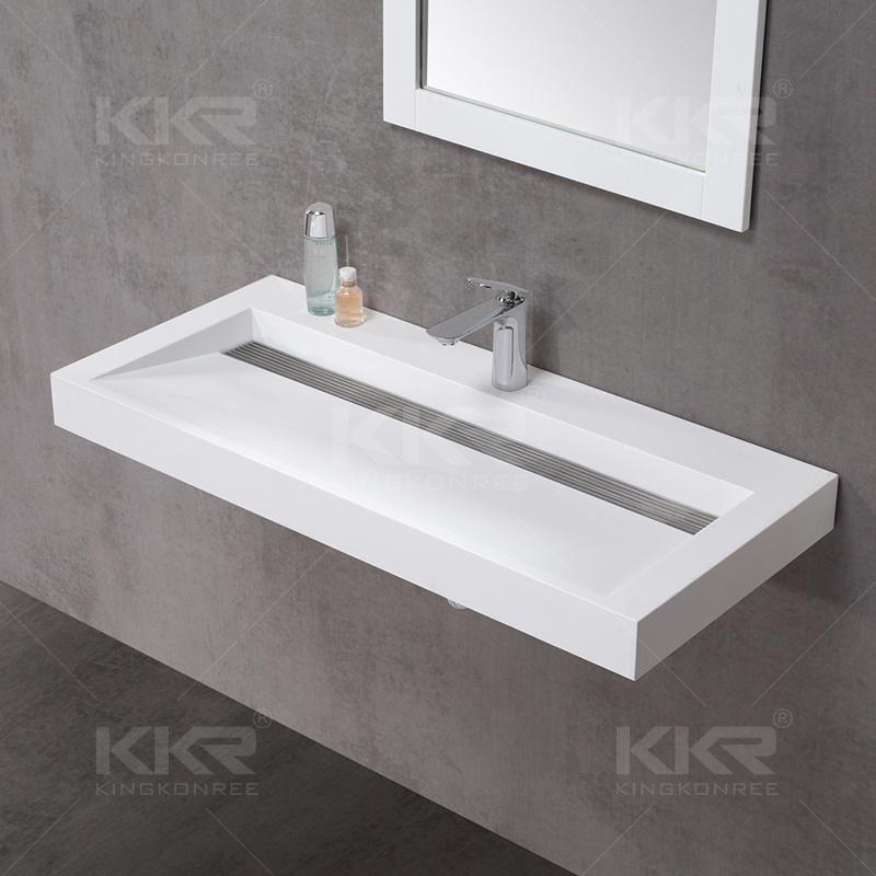 Stone Countertop Washing Hand Hotel Bathroom Basin