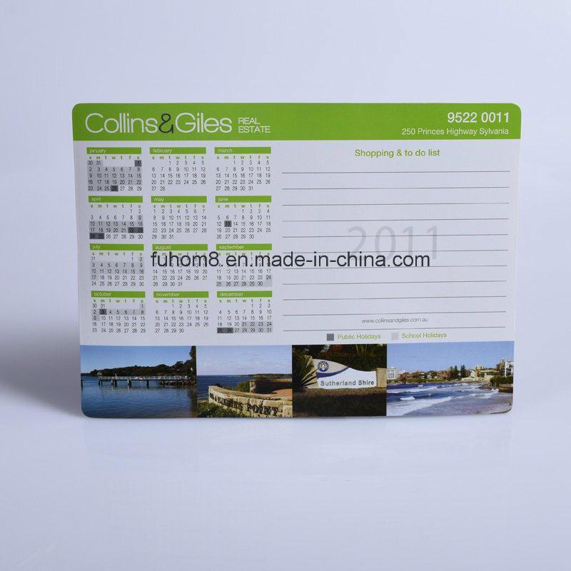 Custom Promotional Calendar Refrigerator Fridge Magnet