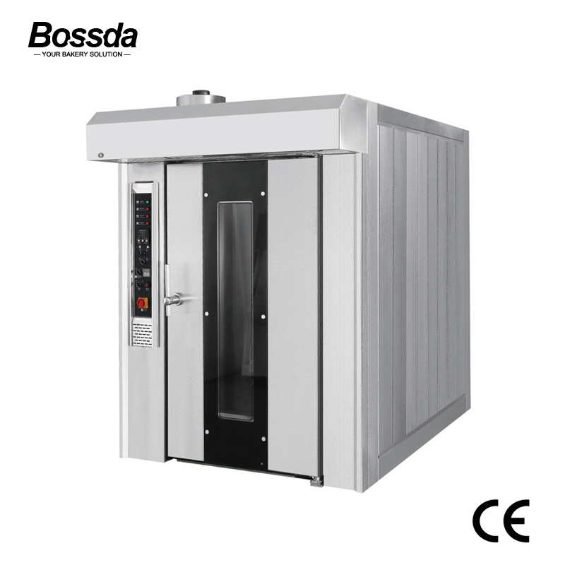 32 Trays Hot Air Natural Gas Rotary Rack Oven for Bakery Ce Bdx-32q