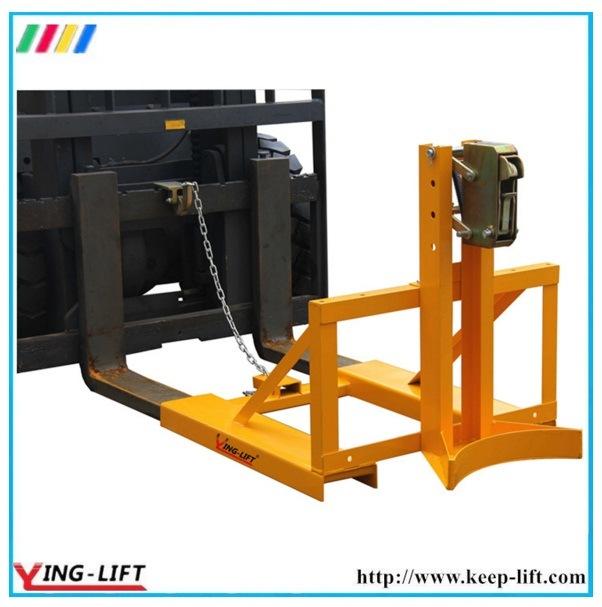 Adjustable Support Leg Forklift Drum Grabs