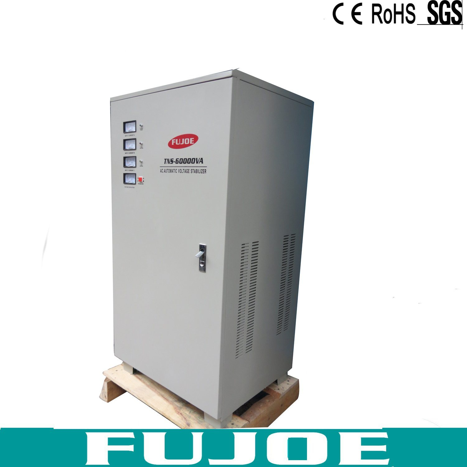 SVC Tns 60kVA Three Phase Vertical AC Automatic Voltage Stabilizers, 60000va Voltage Regulator