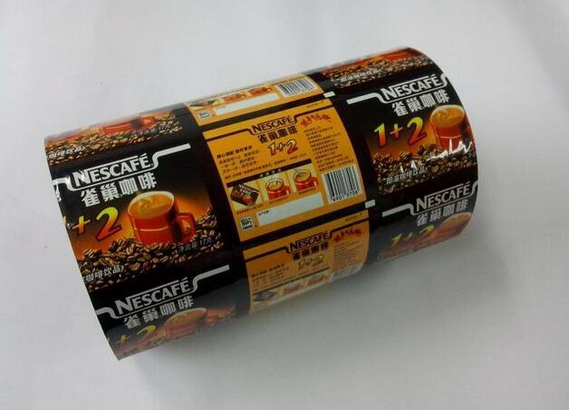 Heat Seal Plastic Roll Film Pouch Film for Food Packaging