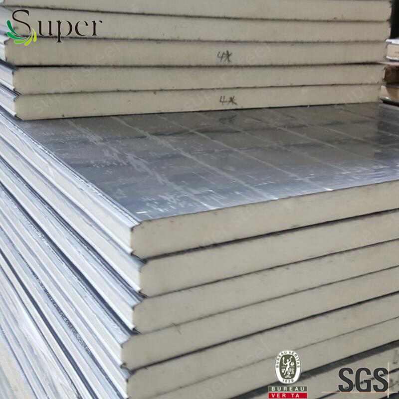 Fireproof Insulated Wall PU Sandwich Panel