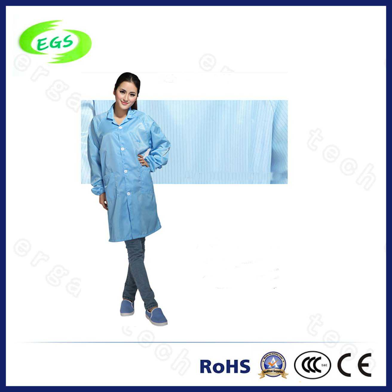 Antistatic Coverall Work Clothes for Cleanroom