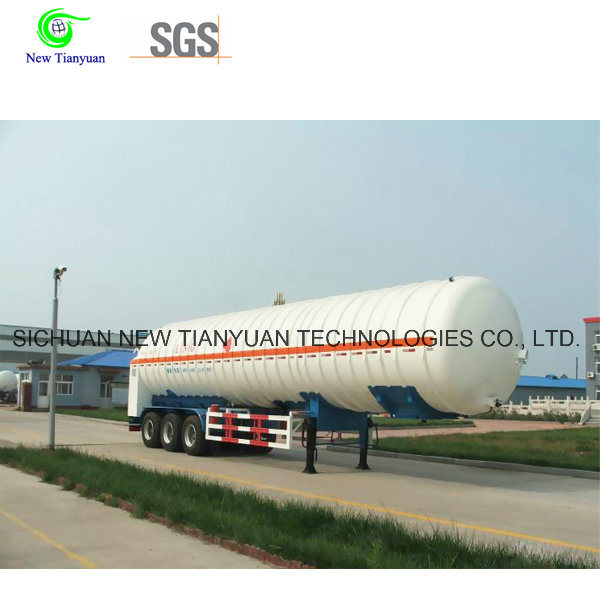 Vacuum Multilayer Insulation Cryogenic Tank Semi Trailer