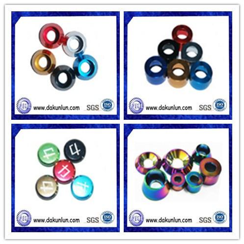 Customized Anodized Aluminum Washer (DKL-1303301)