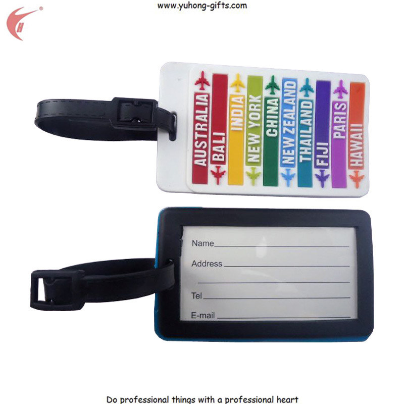 2014 Custom Luggage Tag for Luggage Bag (YH-LT002)
