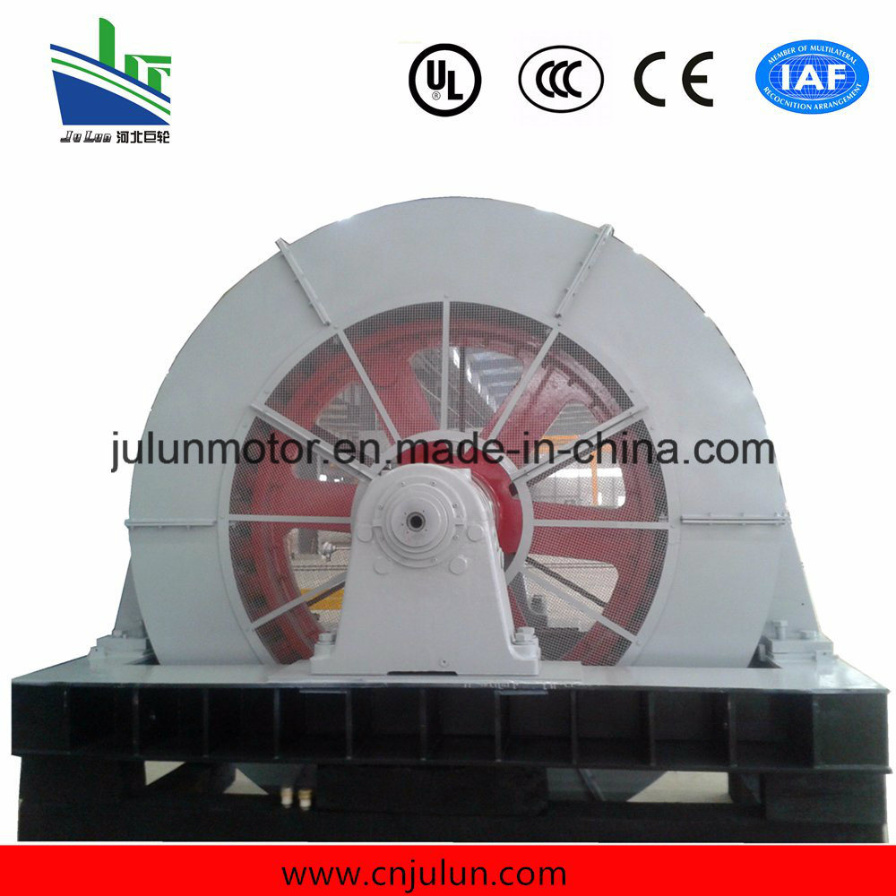Large-Sized Low Speed High-Voltage 3-Phase Synchronous Motor