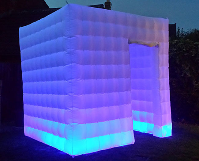 Hot Sell Inflatable LED Lighting Photo Booth for Sale