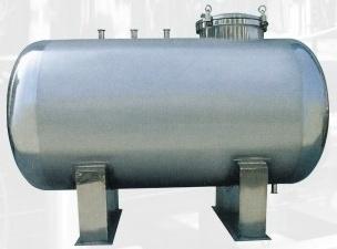 Stainless Steel Horizontal/Vertical Storage Tank for Fluid Liquid