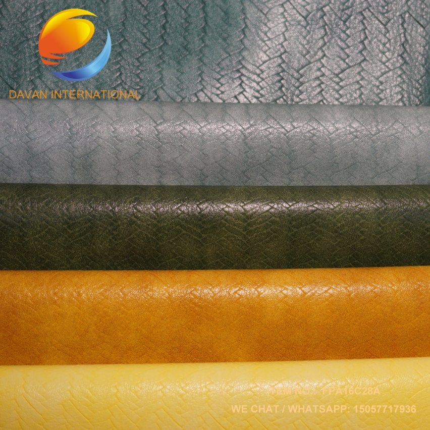 PU Leather Good Hand Feeling for Bags