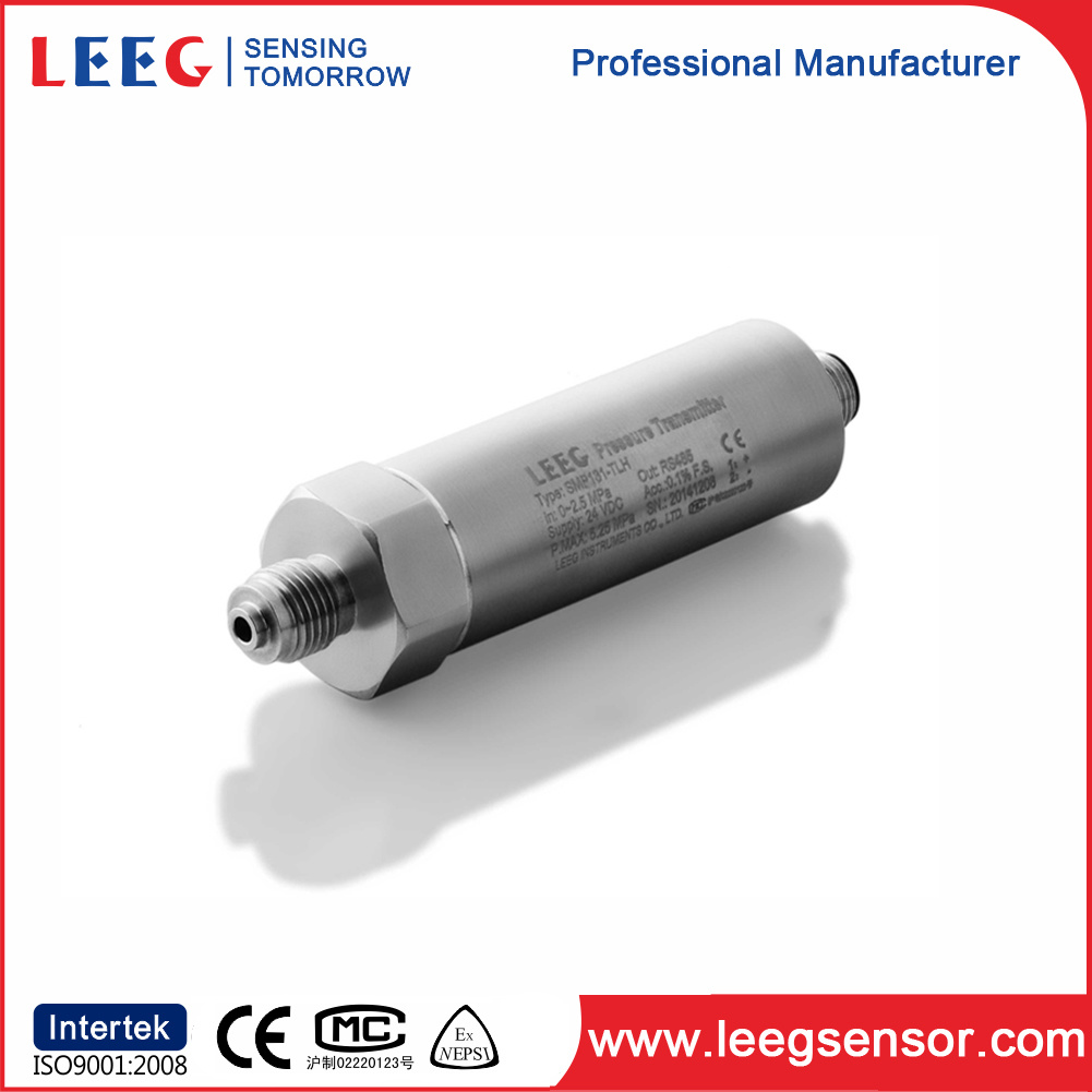 Liquid / Gas Pressure Transmitter with 4-20 Ma / Hart, 0-5V, RS485 Output