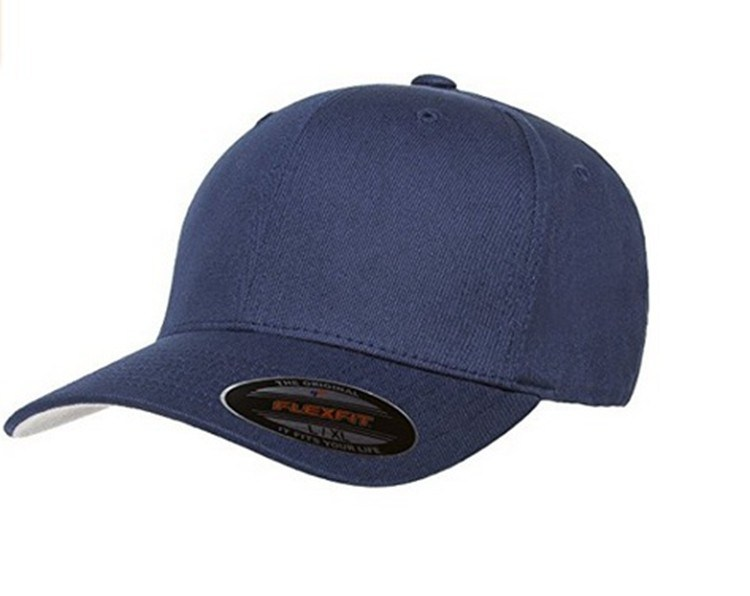 Good Quality Custom 100% Cotton Flex Fit Hats