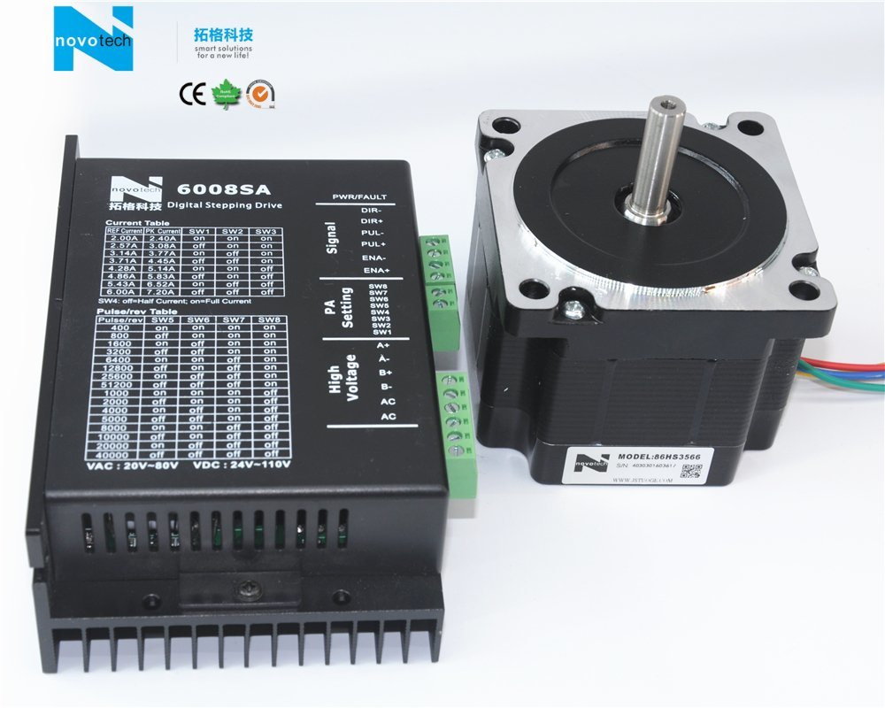 86HS3566 Series Two Phase Stepper Motor